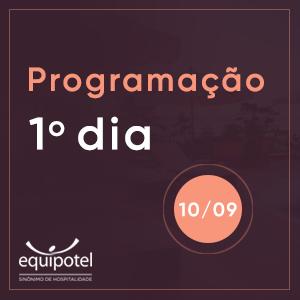 Programação primeiro dia - 10/09