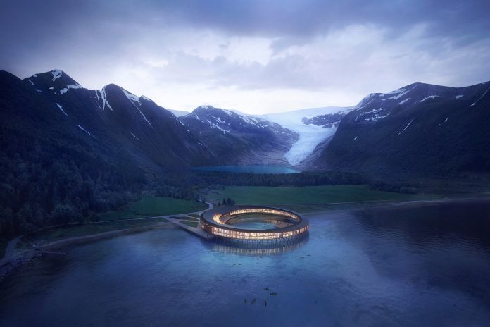 hotel svart mostra o conceito de turismo de luxo