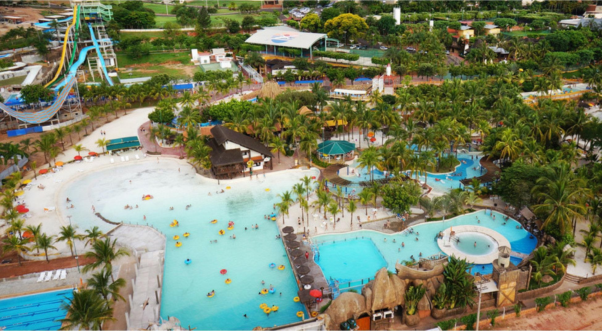 Diversão hoteleira como a proximidade com parques temáticos auxilia os hotéis de Olimpia